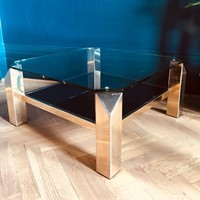 23 ct gold coffee table by Belgo Chrom