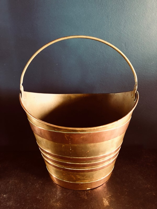 Antique French Oyster Bucket-20th-century-filth-brass-bucket-2-main-636897174764444691.jpg