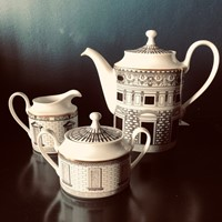 Palladiana Coffee Set by Fornasetti