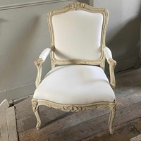 Pair French Armchairs