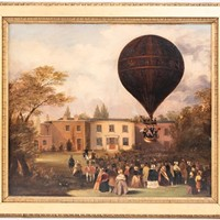 Ascent of Charles Green's Nassau Balloon