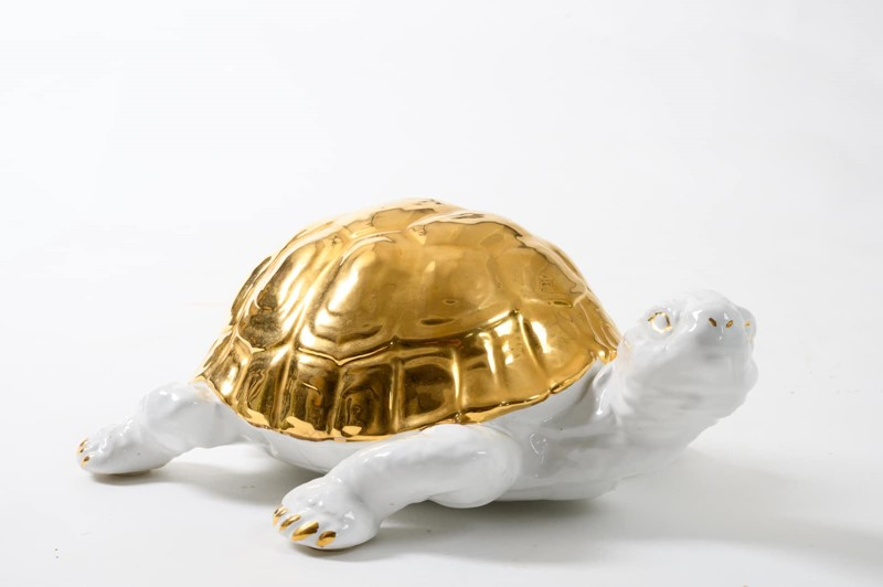 ceramic tortoise with gold detailing by Ronzan-3details-ceramic-tortoise-with-gold-detailing-by-ronzan-1-main-637327430791154463.jpg