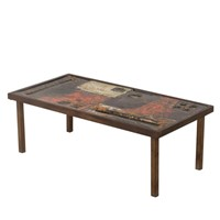 Cloutier Brothers Ceramic top Low Table
