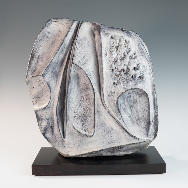 large blue grey ceramic sculpture Marcello Fantoni-3details-large-blue-grey-ceramic-sculpture-by-marcello-fantoni-2-main-636867685432753292.jpg