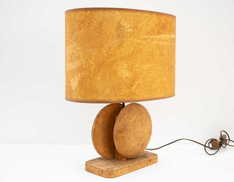 Mid Century Cork Table Lamp-3details-mid-century-cork-table-lamp2-main-637406236010200179.jpg
