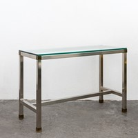 Stainless Steel Console By David Hicks