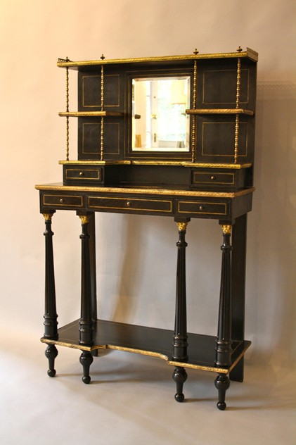 Ebonised and ormolu chiffonier-ac2f4ce3-1f1d-4e82-8f87-da243b1511df.jpg