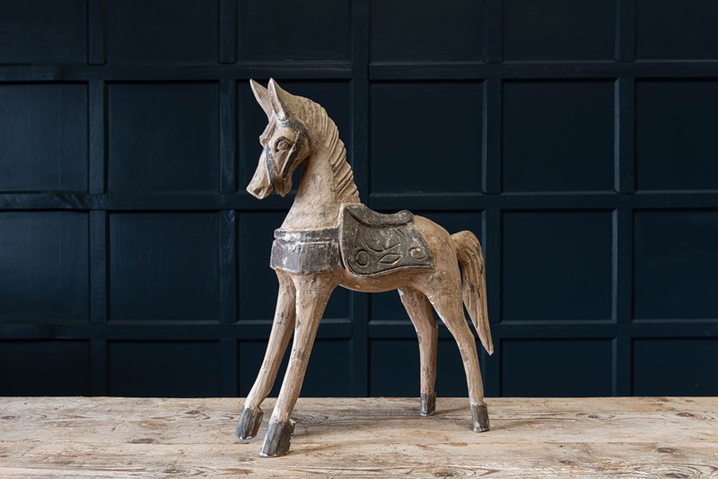 19thC French Polychrome Carved Horse Sculpture-adam-lloyd-interiors-19thc-french-carved-horse-sculpture-main-637431833320983762.jpg