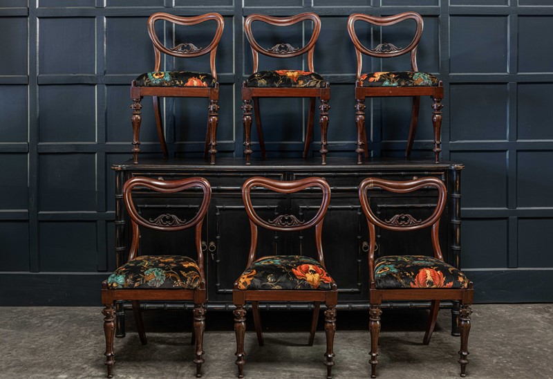 19thC Set of 6 Rosewood Upholstered Chairs-adam-lloyd-interiors-19thc-rosewood-balloon-back-dining-chairs-main-637462141124183104.jpg