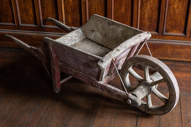 19th Century french oak wheelbarrow-adam-lloyd-interiors-french-oak-wheelbarrow-main-637289322403210112.jpg