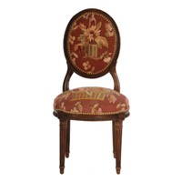 Louis xvi revival child`s chair