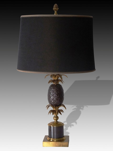 """Maison Charles"" Pineapple Lamp-adps-antiques-3043-main-636577747685204563.jpg"