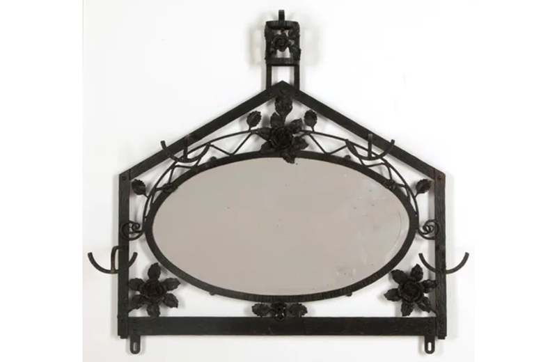 1930's  mirrored coat/hat rack-adps-antiques-3599-1-main-637366542810645789.png