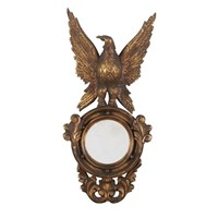 Decorative eagle mirror
