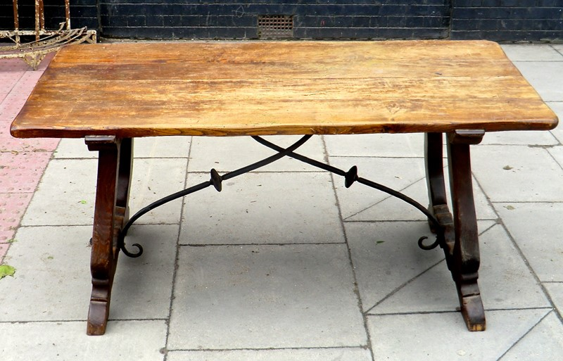 Spanish 'Arts & Crafts' Oak Refectory Table-aeology-at-relic-antiques-cimg8540-2-main-637242050916377720.JPG