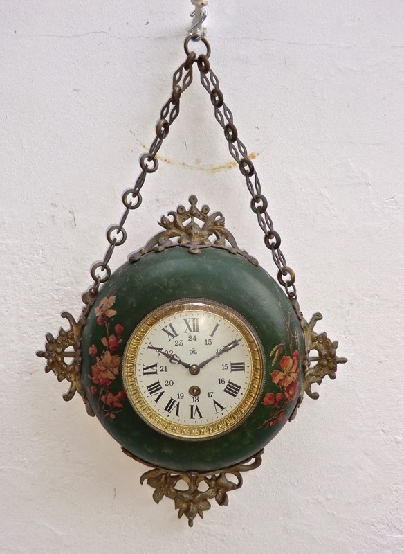 Decorative 19th C.Wall Clock from France by Japy -aeology-at-relic-antiques-cimg8790-main-637268194939885281.JPG