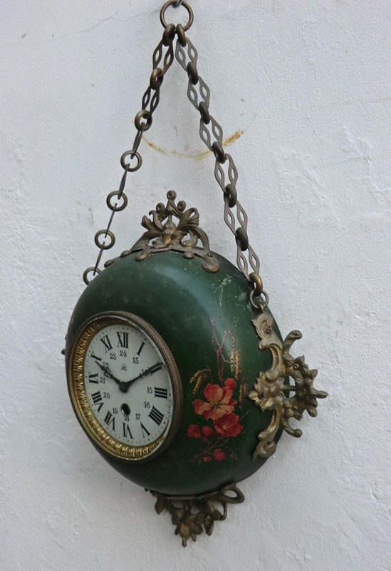 Decorative 19th C.Wall Clock from France by Japy -aeology-at-relic-antiques-cimg8812-main-637268195272857155.JPG