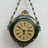 19thC. Decorative Hanging Wall Clock from France
