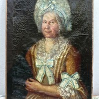 Fine Portrait in Oil of 18thC. French Noblewoman