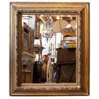 Victorian Hunting Lodge Mirror from Scotland.