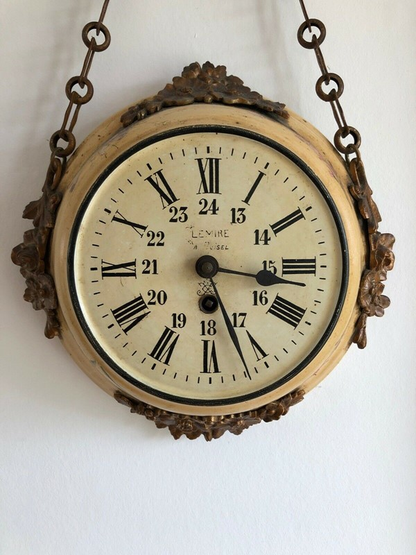 19thC. Chain hanging Wall Clock from France-aeology-at-relic-antiques-s-l1600-1-copy-main-637237582878556172.jpg