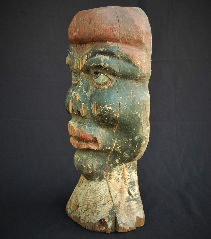 Fairground 'African' Target Head  from France-aeology-at-relic-antiques-s-l1600-1-main-637174542633199167.jpg