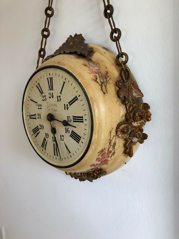 19thC. Chain hanging Wall Clock from France-aeology-at-relic-antiques-s-l1600-3-main-637237582894806214.jpg