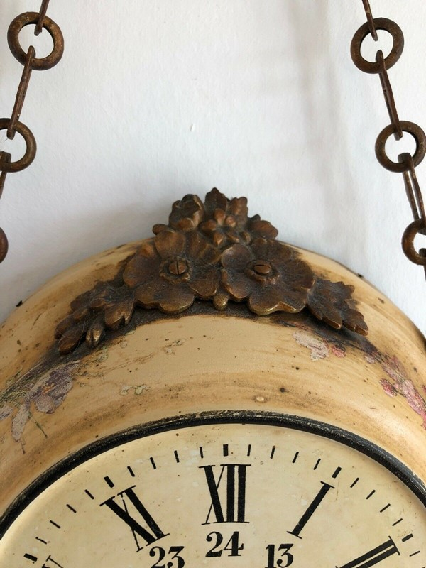 19thC. Chain hanging Wall Clock from France-aeology-at-relic-antiques-s-l1600-5-main-637237582911837118.jpg