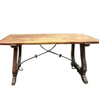 Spanish 'Arts & Crafts' Oak Refectory Table