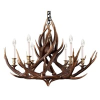 Scottish Highlands Deer Antler Chandelier