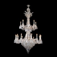 Magnificent 24 Light Crystal Bruges Chandelier