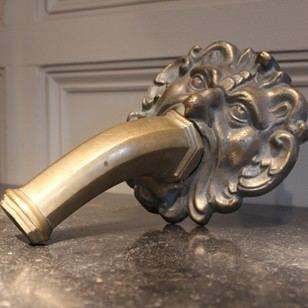Brass fountain head