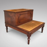 Regency Period Mahogany Bed Steps