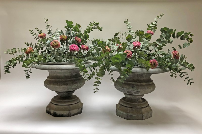 Beautiful Pair of early 19th French Zinc Urns -appley-hoare-19thcpairzincurns12-main-637465838415181080.jpg