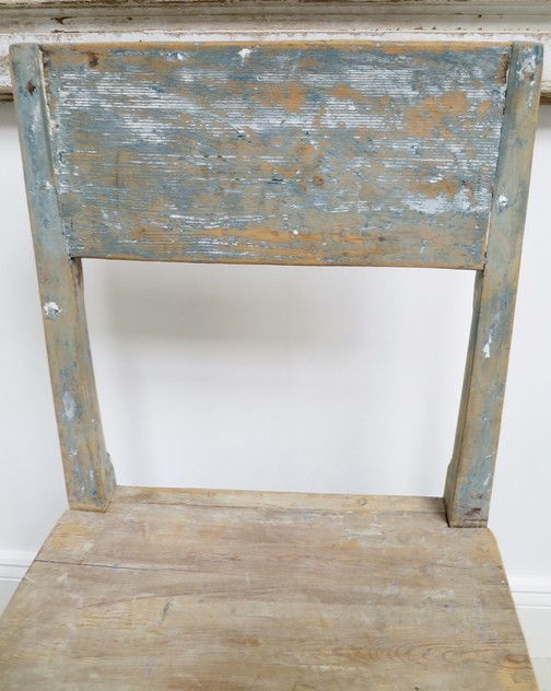 19th c French Pine Chair with original blue paint -appley-hoare-BluePineChair2_main_636559639637640664.jpg