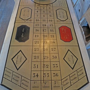 Roulette Board and Wheel