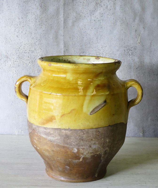 19th century French Confit Pots-appley-hoare-YellowConfitJars10-main-636764263362702254.jpg