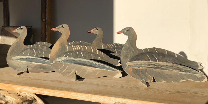 Set of English Decoy Geese - Circa 1940-appley-hoare-decoygeese1-main-637111664256277873.jpg