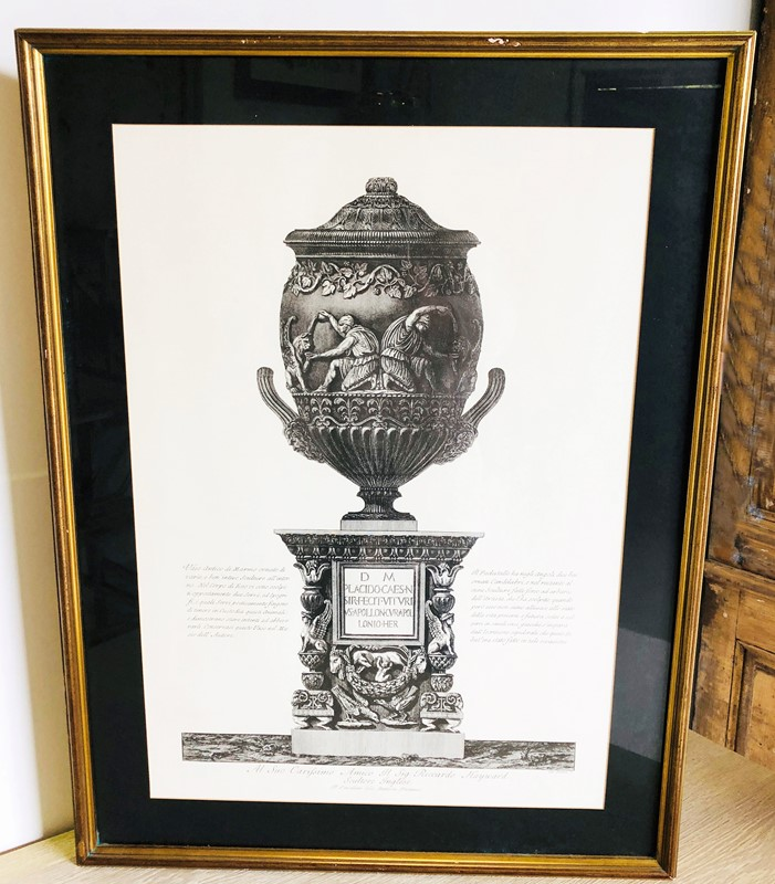 19th c Italian Etching of an Urn - circa 1880-appley-hoare-etchingurn-main-636952507162218943.jpg