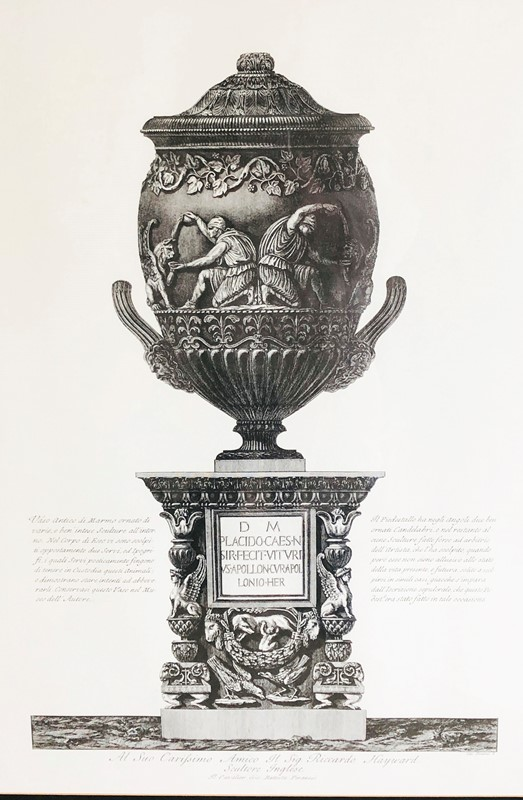 19th c Italian Etching of an Urn - circa 1880-appley-hoare-etchingurn1-main-636952507517478604.jpg