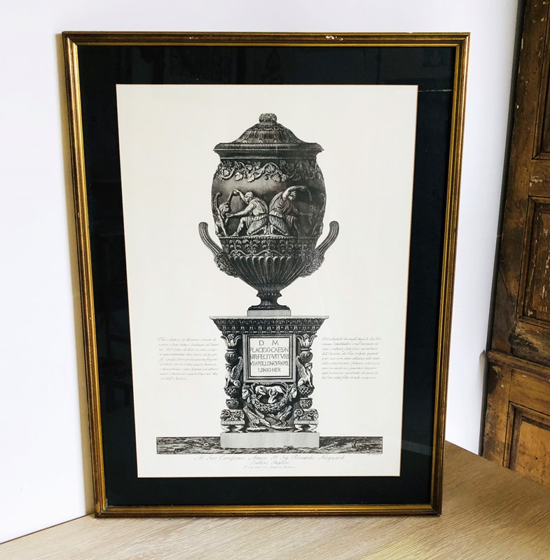 19th c Italian Etching of an Urn - circa 1880-appley-hoare-etchingurn3-main-636952507993023854.jpg