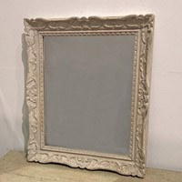 Small 19th c French carved framed Mirror