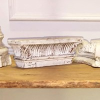 Set of 3 19th century Architectural Plaster Elemen