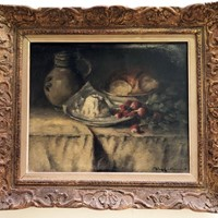 19th c French Still Life - with Radishes
