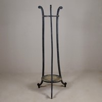 Regency Original Painted Torchere Candle Stand