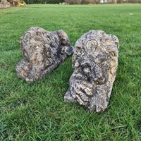 Reconstituted Stone Lions