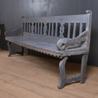 Primitive Scandinavian Bench
