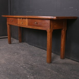 French Walnut Hunt Table