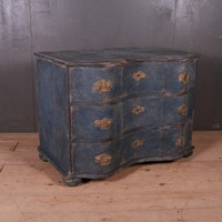 German Serpentine Commode