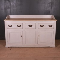 Pine Dresser Base with Gallery Back